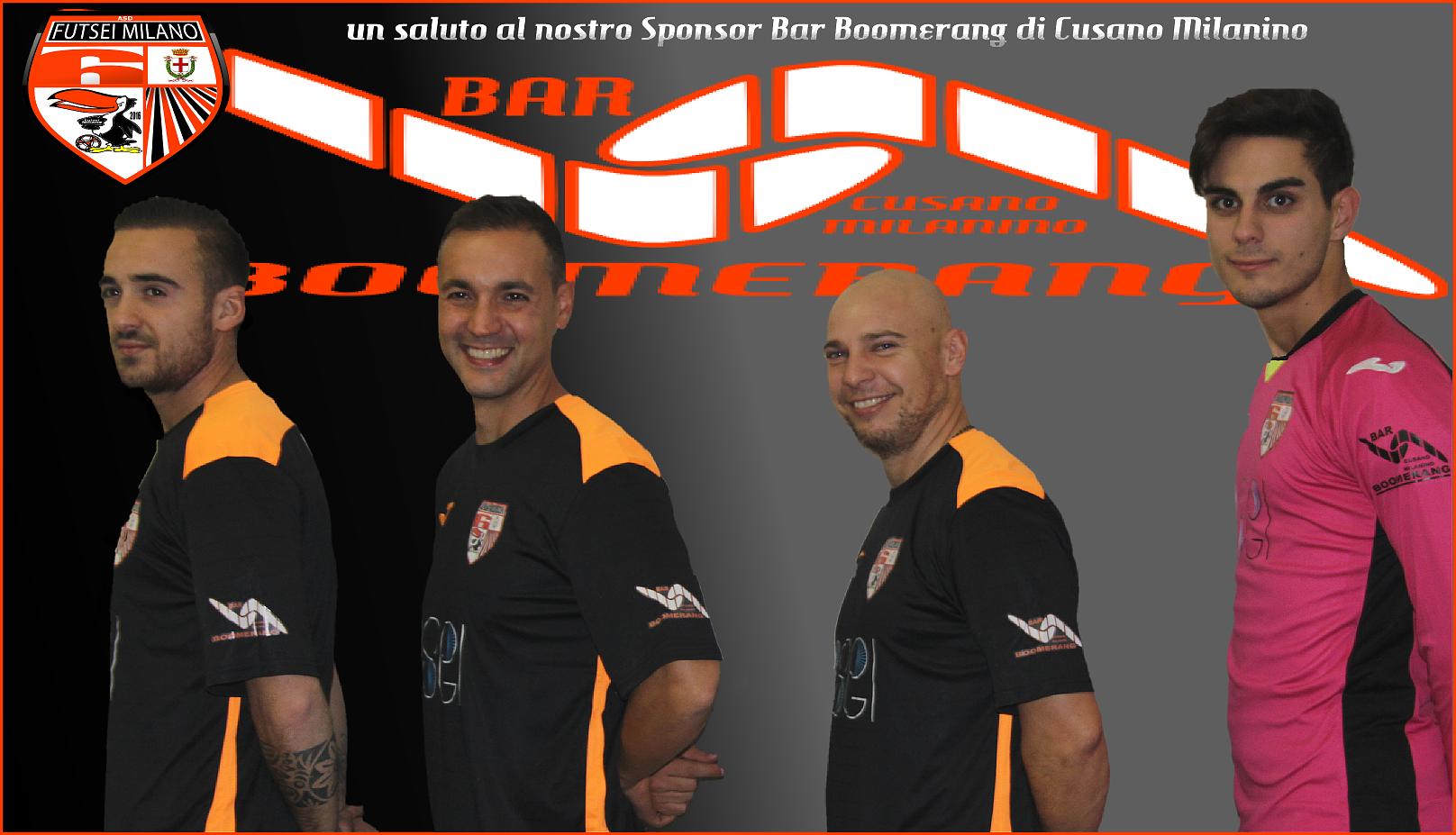 Saluti al Bar Boomerang di Cusano Milanino