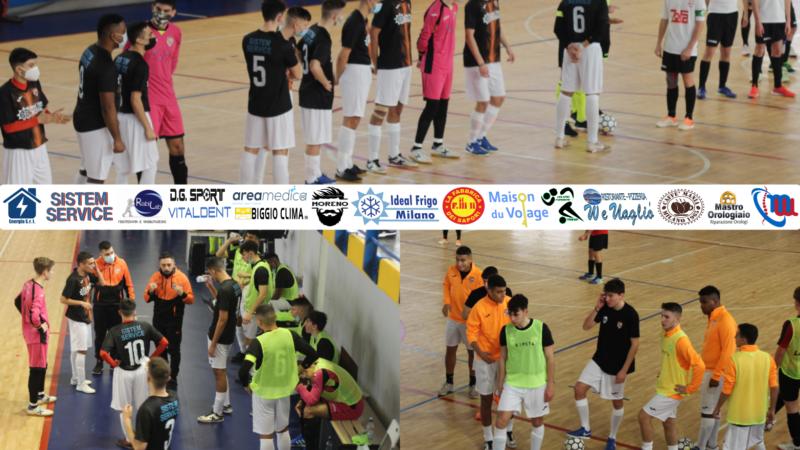 La Futsei Milano U19 cade a Merate contro il Saints Pagnano